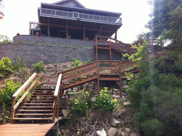 Pier handrails